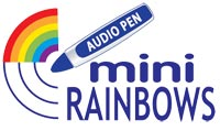 miniRainbow series for preschool and early school readers.